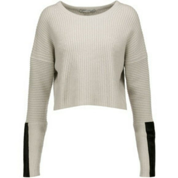 Autumn Cashmere Woman Off-the-shoulder Ruffled Ribbed Cotton Top Brick Size XS Autumn Cashmere Clearance Enjoy From China 100% Authentic Cheap Price Sale Very Cheap Discount Authentic GbvPCLcNDY